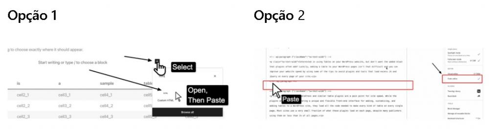Criação de tabelas no WordPress sem TablePres ou plug-ins (3).png
